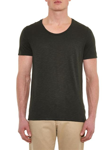american vintage jacksonville t shirt in gray for lyst
