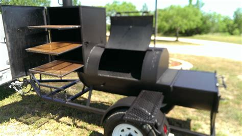 Handmade Bbq - murphys custom bbq barbecue pits trailers 512 429