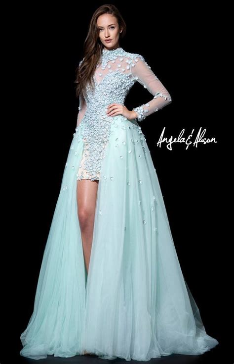 hairstyles long evening dresses interesting styles of long sleeve prom dresses