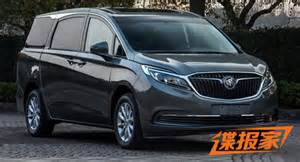Buick Gl8 This New Buick Gl8 Minivan Is For China Only
