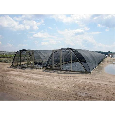 l shade frame supplies sunblocker pro shade house 60 34 w x 12 h x 24 l farmtek