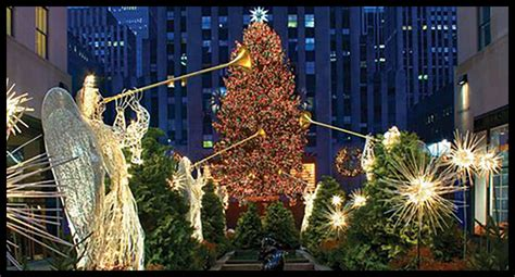 ideas about where is the big christmas tree in new york