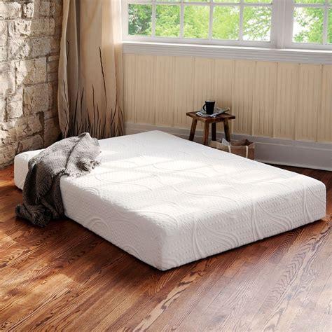 Bed Mattress Size by 8 Inch Memory Foam Mattress Xl King Size