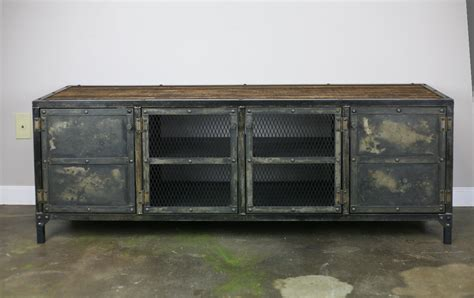 Kredenz Buffet by Vintage Industrial Buffet Credenza Combine 9