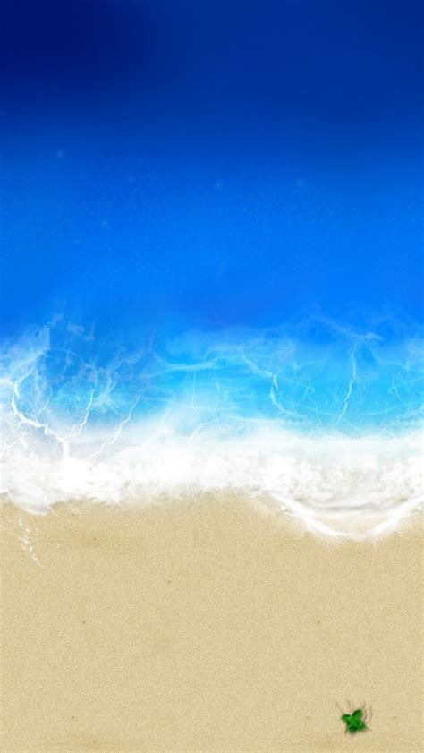 wallpaper iphone 5 view beach waves aerial view iphone 5 wallpaper hd free