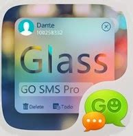 free go sms pro themes for android go sms pro z glass theme ex free for android app find android appz