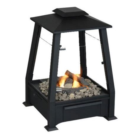 Real Outdoor Fireplace by Real Outdoor Gel Fuel Fireplace Black Real