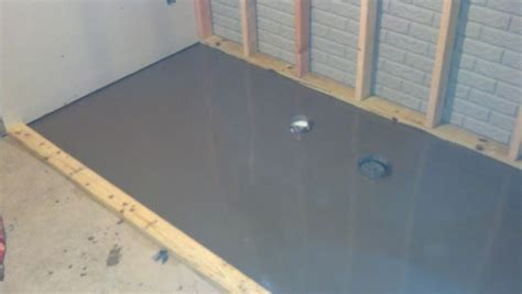leveling concrete basement floor new basement brewery build page 3 home brew forums