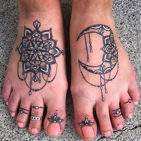 tattoo on toes designs 4 beautiful mandala tattoos on