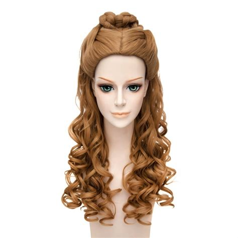 cinderella extensions curly hair women s cinderella live action movie cosplay wigs belle