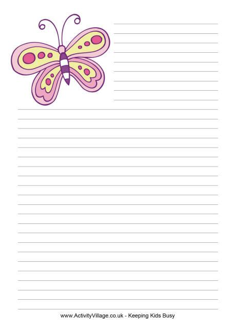 butterfly writing paper write a call for papers for your conference experience