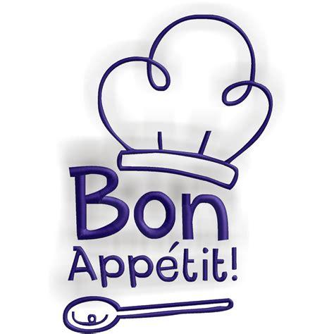 bon appétit embroitique bon appetit kitchen themed design