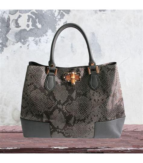 grey pattern handbag gray python pattern handbag nkd naked italian bags