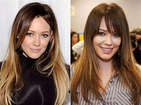 catwalk hair before and after bangs окрашивание волос омбре 25 фото