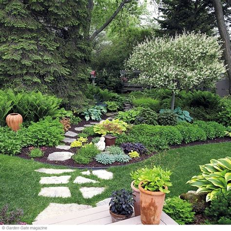 Shade Garden Ideas Shade Garden Garden Ideas Yard Crash