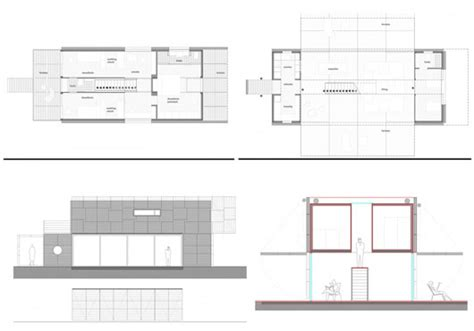 Container Home Floor Plans Case Manifesto Costruito Con Container Marittimi E