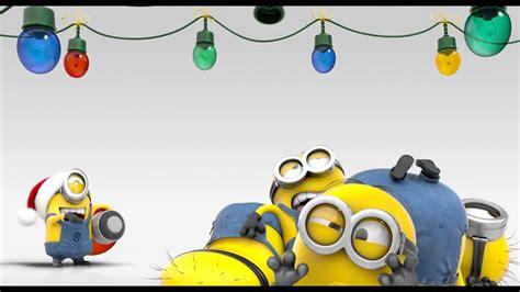 minions merry christmas youtube
