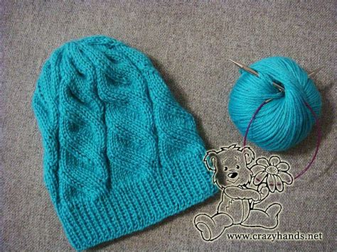 knitted hat patterns on circular needles 1 2 3 4 knitting azure hat with circular needles a