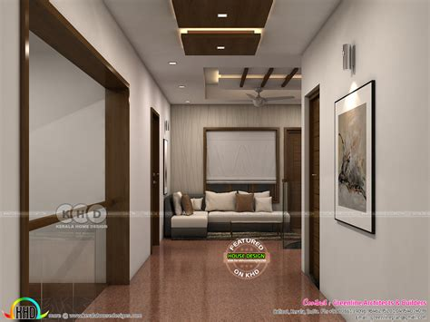 upper living house plans living and upper living interior designs kerala home