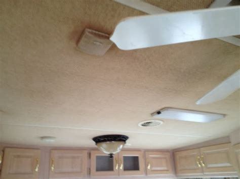 Rv Ceiling Fabric by Smoke Stained Fabric Ceiling In Rv Truckmount Forums 1