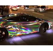 Lamborghini Tuneado Cambia De Colores  Atraccion360