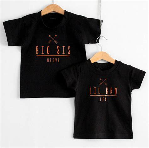 Tshirt Black Arrow black arrow bro and sis t shirt set by precious