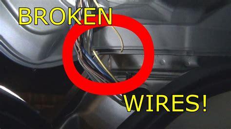 dodge journey rear hatch wiring broken youtube