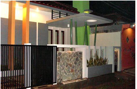 Pagar Rumah Minimalis 3 gambar pagar tembok rumah minimalis modern