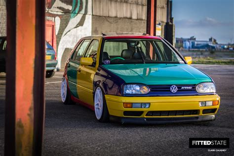 volkswagen harlequin interior lee docherty s harlequin vr6 golf fitted state