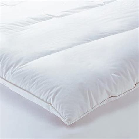 Futon Topper by Linens Limited Goose Feather And Mattress Topper Ebay