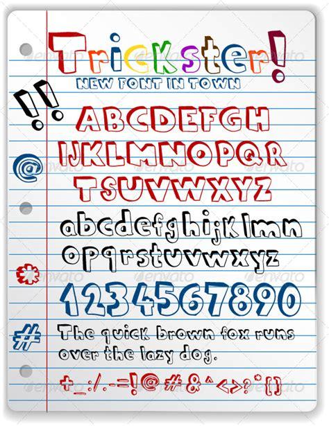 free doodle fonts photoshop doodle font graphicriver