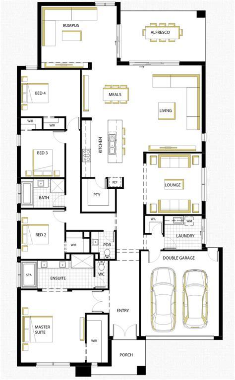 que es modelo y layout en autocad dise 241 o de casa de una planta con planos y fachadas