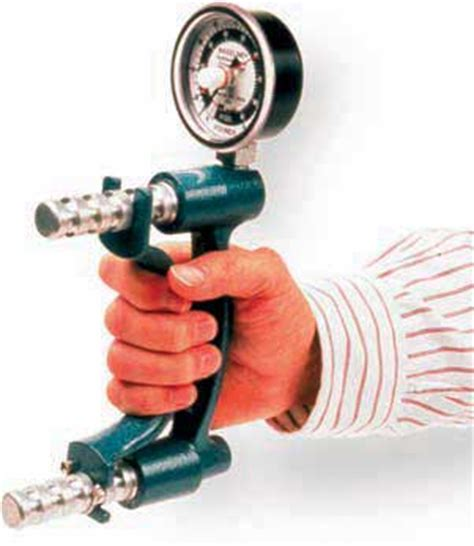 Handgrip Dynamometer dynamometer for grip strength testing baseline jamar