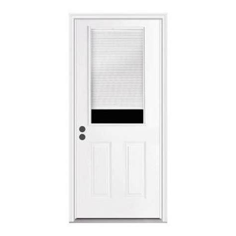 Back Doors For Homes by Back Door Home Depot Jeld Wen Premium 1 2 Lite Tilt