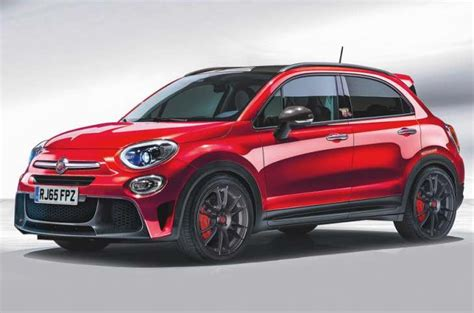 fiat abarth performance fiat abarth 500x performance teased product reviews net
