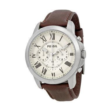 Jam Tangan Pria Fossil Original Type Fs 4735 Fs4735 Fs 4735 jual fossil grant chronograph egg shell fs4735 jam tangan pria harga kualitas