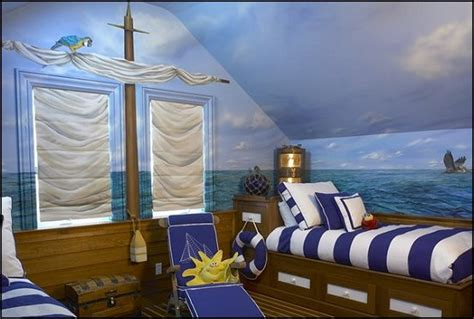 Nautical Bedroom Wall Decor 25 Amazing Boat Rooms For Design Dazzle