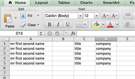excel copy layout copying an excel multi line cell into an indesign table