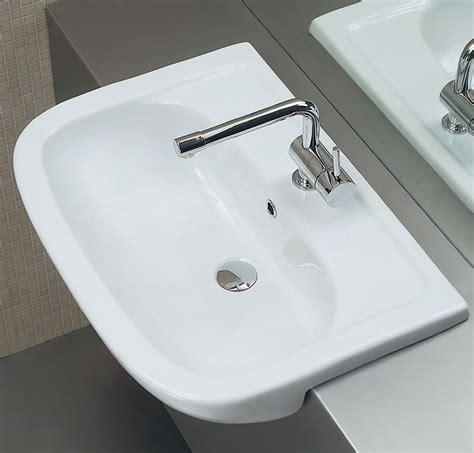 lavabo bagno semincasso lavabo semincasso 66 x 48 cm nemi