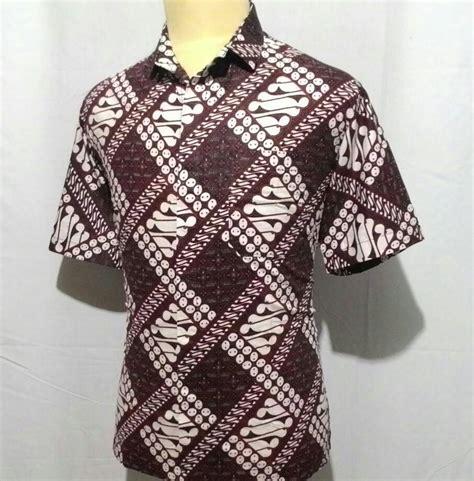 Batik Katun Primisima jual kemeja batik pria katun primisima baju batik cowok