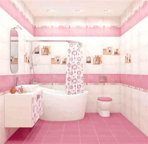 pink tile bathroom ideas small bathroom upscale circular printed shower curtain then pink bathroom