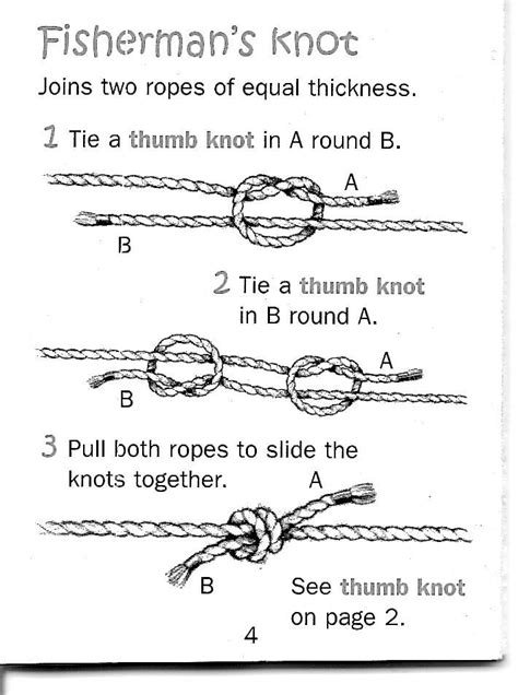 how to tie a swing knot 25 best ideas about fisherman s knot on pinterest easy