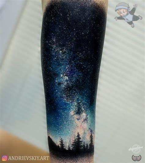 universe tattoos тату космос space тату татуировка