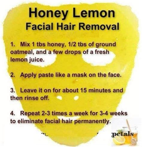 natural permanent hair removal remove those pesky facial hair with this simple natural