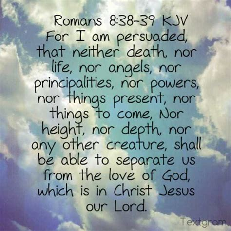 i am god by any other name keith burnett ministries romans 8 38 39 kjv for i am persuaded that neither