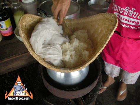 thai sticky rice how to make it importfood