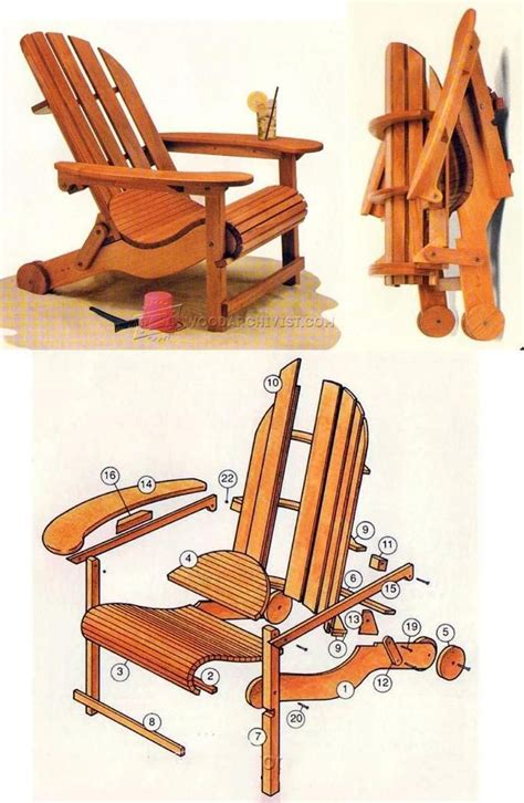 Folding Adirondack Chair Plans by Best 25 Adirondack Chair Plans Ideas On