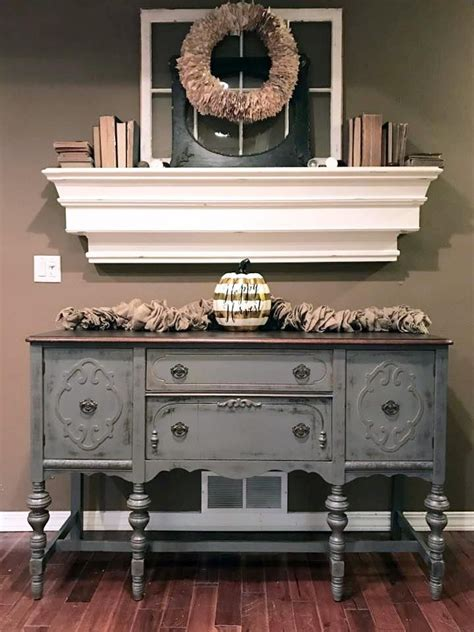 Best 20  Refinished buffet ideas on Pinterest   Painted