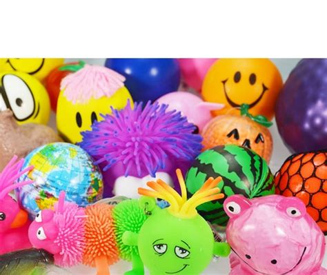 squishy toys squishy stress balls and toys value assortment 120 pack
