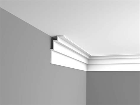 moderne stuckleisten stucco mouldings steps c392 orac decor modern corner